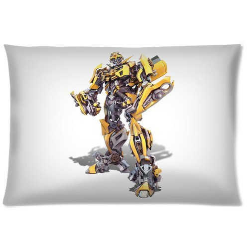 Cool Bumblebee Transformer Standar Size Square Rectangle Print Pillowcase Pillow Case Cover Two Sides 20*30