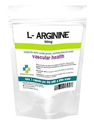 L-Arginine 500mg 90 Capsules