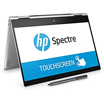 "HP Spectre x360 13-ae001ns - Ordenador portátil convertible de 13.3"" FHD (Intel Core i7-8550U, 8 GB RAM, 256 GB SSD, Intel HD Graphics 620, Windows 10); Plateado - Teclado QWERTY Español"