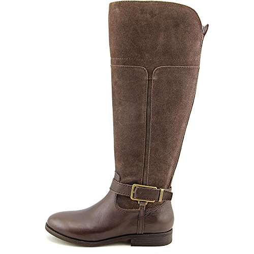 Wildleder Rund Fisher Stiefel Wide Aysha Mode Marc Multi Brown Calf Hoch knie wqpXIO