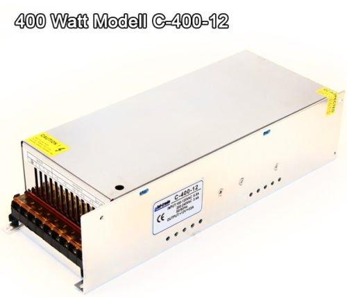 Preisvergleich Produktbild 400 Watt 12V DC TRAFO LED Leisten Transformator Netzteil von Phil Trade