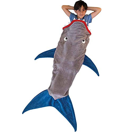 LIVEKEY - Manta de tiburón para niños