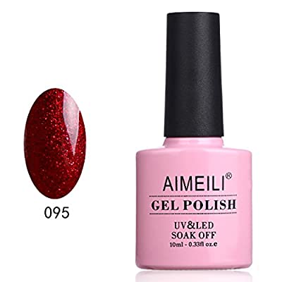 AIMEILI Gel Nail Polish Christmas Color Range Soak Off UV LED Nail Polish-1