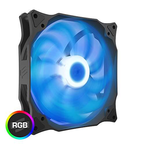 Fan-speed-control-single (SilentiumPC Stella HP PWM Gehäuselüfter (140 mm, RGB))