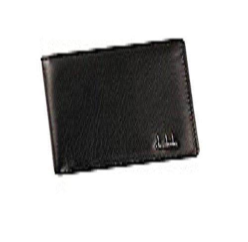 Rcool Männer Bifold Business Leder Brieftasche ID Credit Card Inhaber Geldbörse Taschen Schwarz