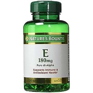 Nature's Bounty Vitamin E 400IU, 120 Softgels (Pack of 3)