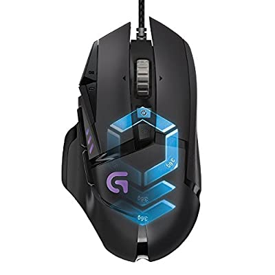 Logitech G502 Proteus Spectrum RGB Tunable Gaming Mouse with 11 Programmable Buttons