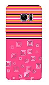 SWAG my CASE PRINTED BACK COVER FOR SAMSUNG GALAXY NOTE 7 Multicolor