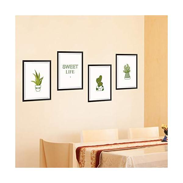 ZRDMN Etiqueta de la pared Las habitaciones están decoradas en una maceta fresca En la pared El soporte de pared puede…