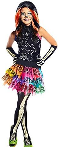 Skelita Filles Costume - erdbeerloft–Filles Costume skelita avec robe, ceinture, des