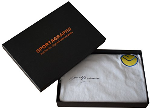 Sportagraphs-Gordon-McQueen-SIGNED-Leeds-United-Shirt-Autograph-Gift-Box-New-AFTAL-COA-PERFECT-GIFT