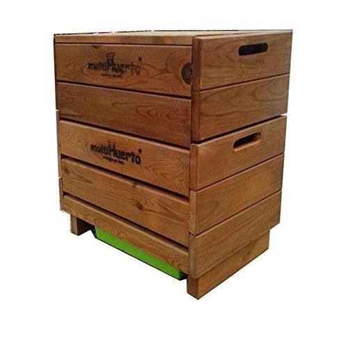 Multihuerto Vermicomposteur complet en bois