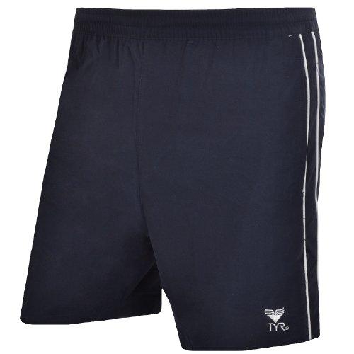 TYR - Herren Badeshorts - Dunkelblau - XS (Tyr Swimwear Männer)