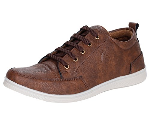 51188b194280fe 65% OFF on Kraasa Men s Faux Leather Sneaker on Amazon
