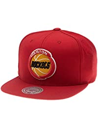 Mitchell   Ness Gorras Houston Rockets Wool Solid Red Snapback 1ad2f358395
