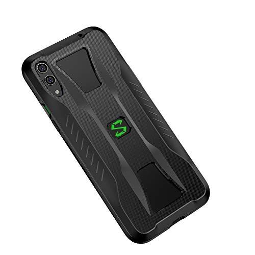 CRESEE Coque Black Shark 2 Pro, Étui Housse de Protection Antichoc Souple TPU Silicone Bumper Accessoires Coque pour Xiaomi Black Shark 2 Pro/Black Shark 2 (Noir)