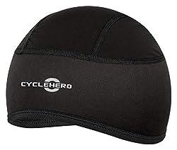 CYCLEHERO Fahrradmütze gepolstert (Größe: XS-M) Unterziehmütze für Herren, Damen und Kinder mit EU Passform