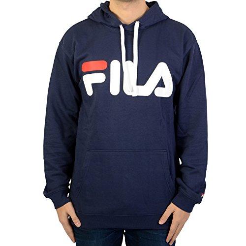 Fila Classic Logo Hoody, Sweatshirt,003peacoat,L -