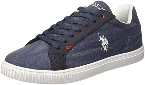 U.S. Polo Assn. Tunis, Sneaker Uomo, Blu (Dark Blue), 42 EU