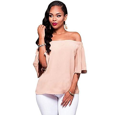 MEINICE - T-Shirt - Femme - rose - L