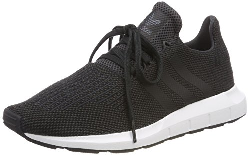 ADIDAS Swift Run, Zapatillas para Hombre, Negro Carbon/Core Black/Medium Grey Heather Cq2114, 42 2/3 EU