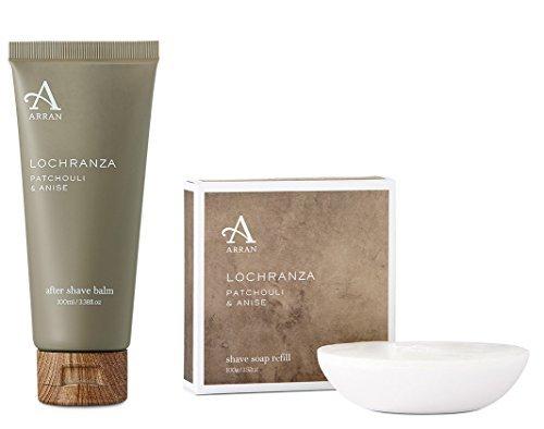 arran-lochranza-patschuli-and-anis-rasierseife-auffullbar-and-after-shave-balsam-set