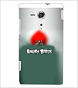 PRINTSWAG BIRD Designer Back Cover Case for SONY XPERIA SP