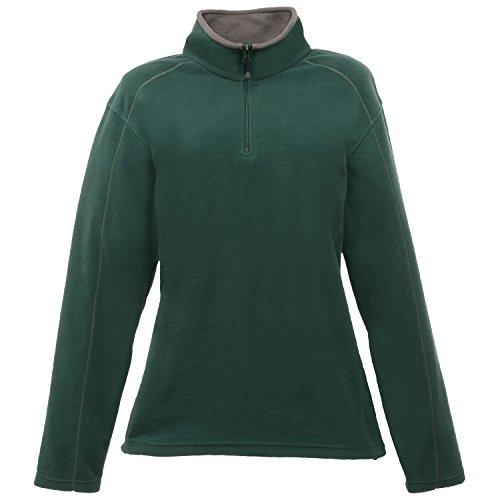 Regatta Standout Damen Ashville Fleece-Jacke / Fleece-Oberteil mit Reißverschluss bis zur Brust Schwarz/Rauch