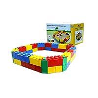 Wader Sandpit with Building Bricks