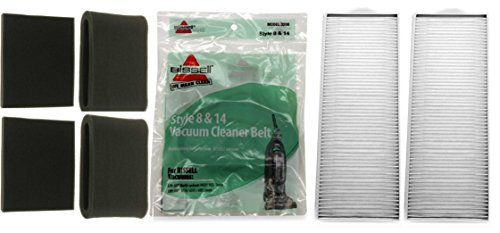 Bissell Lift-Off Kit. Inklusive (4) Style 7 und 8 Schaumstoff Filter-Kits, (2) Style 8 HEPA Filter, (2) Style 8 Gürtel - Bissell Lift Off Staubsauger