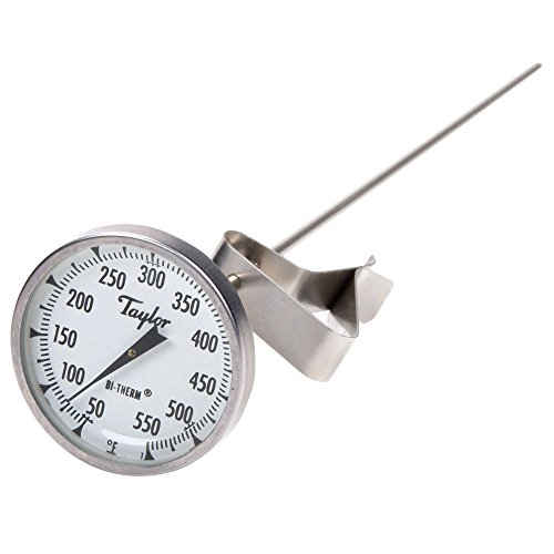 Taylor Precision 6084J12 Bratthermometer mit 30,5 cm Stiel Taylor Candy Thermometer