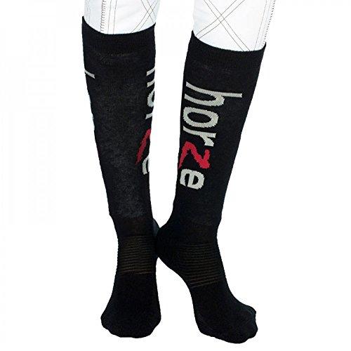 horze Funktionelle Tip Toe Socken für Erwachsene
