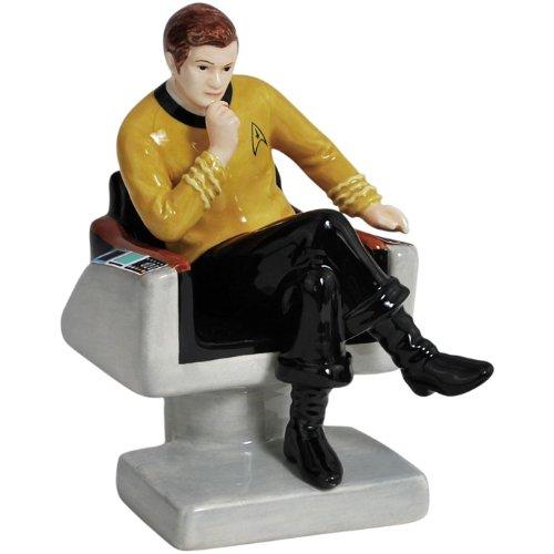 Star Trek Captain Kirk On Chair Salt & Pepper Shakers