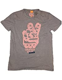 BOSS ORANGE T SHIRT THANDO 2 FARBE GRAU 511 GR: S
