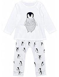 Ouneed® 1-6 ans Garcon Bebe Pyjama Ensemble Haut + Pantalon
