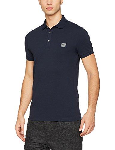 BOSS Casual Herren Poloshirt Passenger Blau (Dark Blue 404)