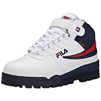 Fila Men's F-13 Weather Tech Hiking Boot, White Navy Red, 8.5 M US