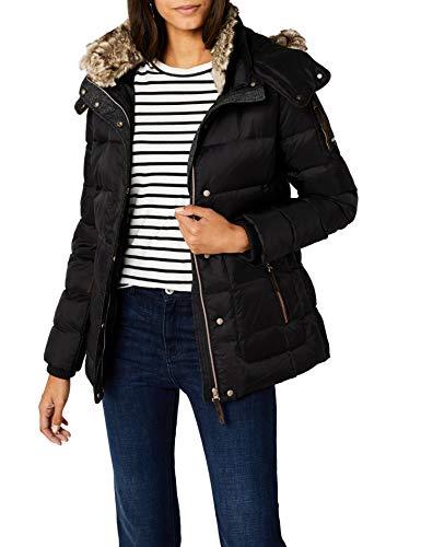 Esprit - 087EE1G011 - Blouson - Femme - Noir (Black 001) - FR: M (Taille Fabricant: S)