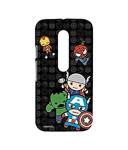 Block Print Company Kawaii Art Marvel Comics Phone Cover for Moto G3