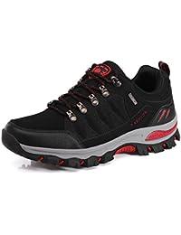 Dannto Zapatillas de Deporte de Running para Mujer Hombres Gimnasia Ligero Sneakers Zapatos?azul-A,45)