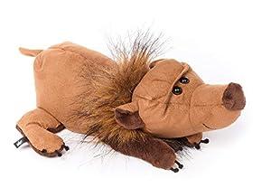 Sigikid 39004Oso sofá seufzer, un Miembro de la Rum hänggäng de Beast Stown de Beasts Diseño de Peluche como Regalo para niños y Adultos, Color marrón