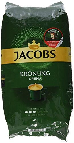 Jacobs Krönung Crema, Kaffee Ganze Bohne, 1000 g