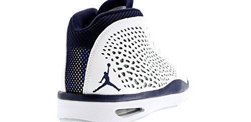 Nike Jordan Flight 2015, da Uomo Scarpe sportive Bianco Blu Scuro Navy/Grigio Lupo