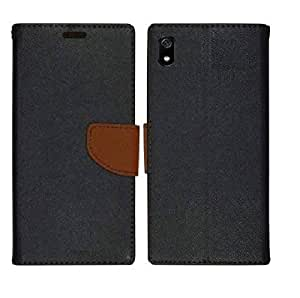 AUTOCASE Wallet Flip Case Cover for Redmi 7A - MZB7995IN, M1903C3EG, M1903C3EH, M1903C3EIFeature Card Holder Magnetic Closure, Shockproof Flip Case (Brown)