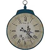 Tomasucci New York Reloj, Metal, Azul de la fuerza aérea-raf Envejecido