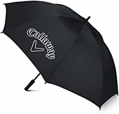 Callaway CG Logo 60 SGL Man Open Umbrella, Black, 60""