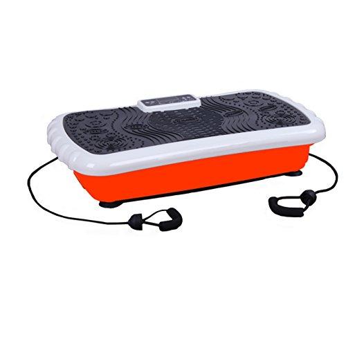Büro Fitness SilentDrive-2 Vibrationsplatte mit DVD und Workout Booklet | GESAMTE KÖRPERFITNESS | Massage-Fitness-Übungsgerät | Vibrationsmaschine | Vibrationsplattform | Beste Body Shaper