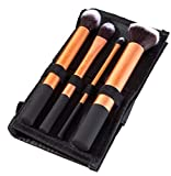 Best Mineral Makeup Kits - Puna Store Cosmetic Makeup Brush Set - 4 Review