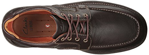 Clarks Untilary Pace Oxford Brown Leather CxeTiJd78