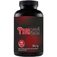 THORAXIN Muskelaufbau extrem   BCAA + L-Arginin hochdosiert   Aminosäuren Komplex   90 Kapseln